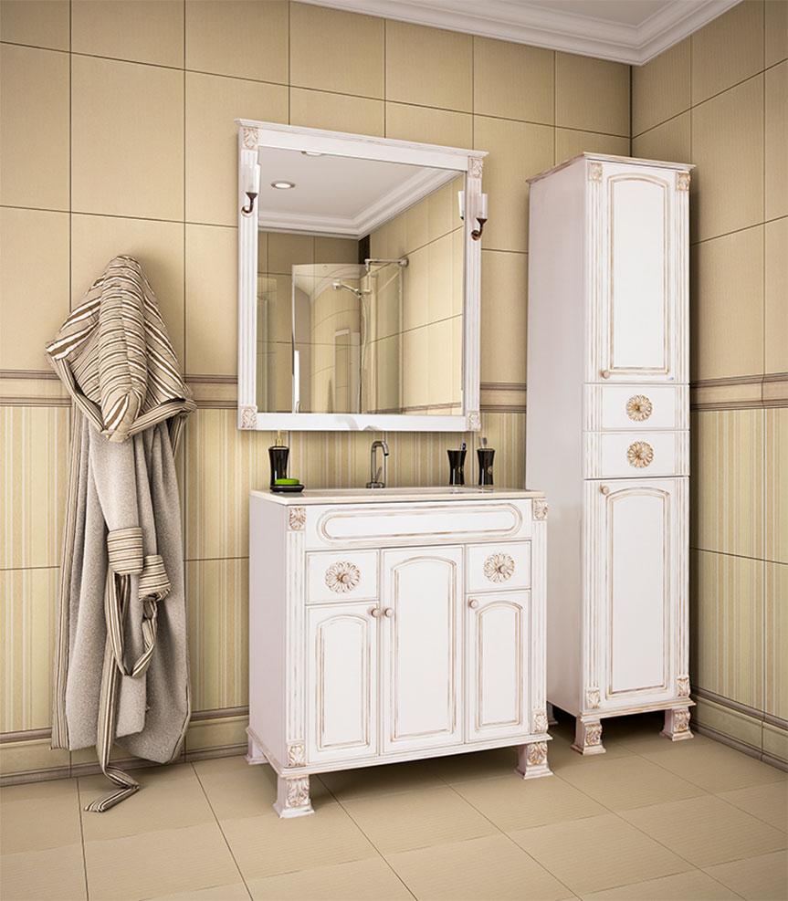 Мебель для ванной классик Смеситель Paini Duomo 88OP690 С ВНУТРЕННЕЙ ЧАСТЬЮ, для душа